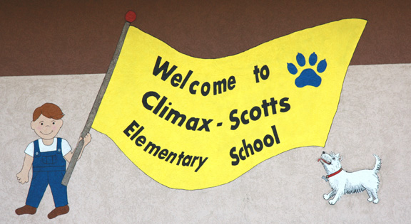 Welcome to Climax-Scotts Elementary School