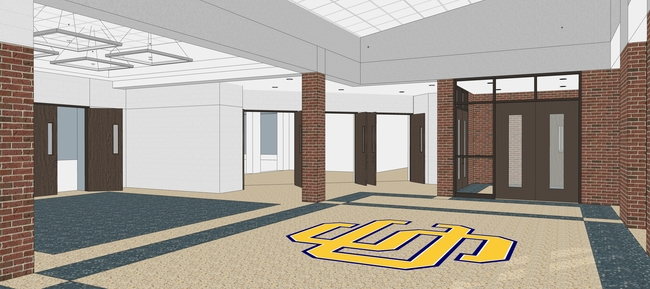 Draft Image of Proposed Jr/Sr HS Lobby