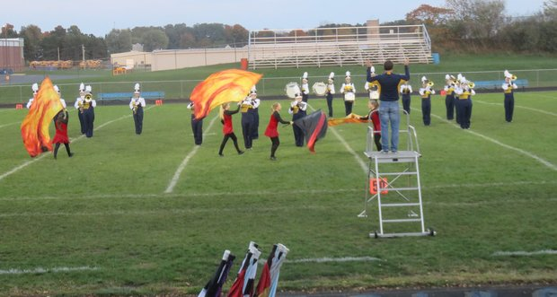 HS Marching Band and Springport Invitational