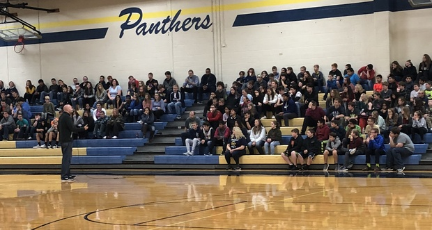 Anthony Ianni with Student Body